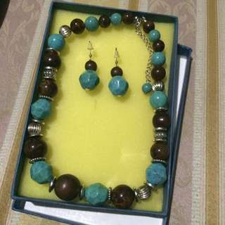 Pair Necklace And Earings