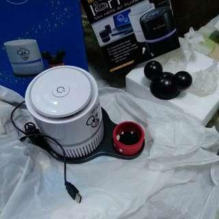 全新Disney座檯空氣淨化機(可用USB)