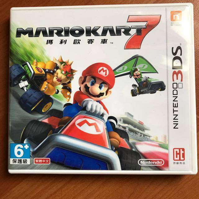 3DS遊戲 馬力歐賽車7