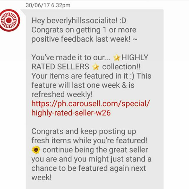 6th Time Thank You Carousell Team and Co-carousellers