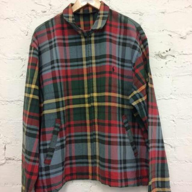 90's Ralph Lauren Tartan Harrington Jacket