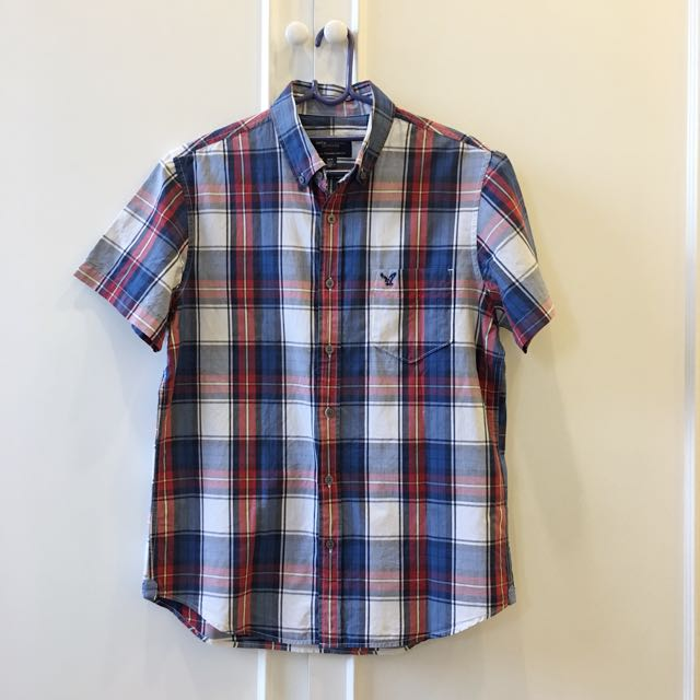 American Eagle Checkered Shirt/Top