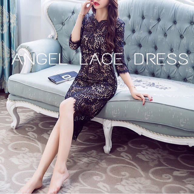 Angel Lace Dress