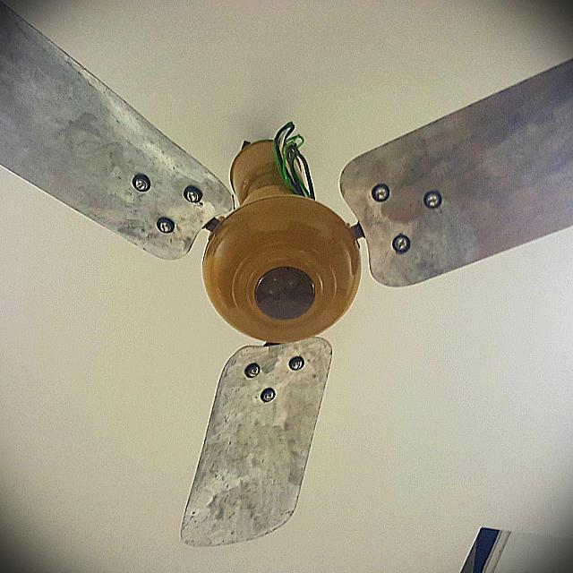 Antique Usha Ceiling Fan 1940 Made In India Antiques