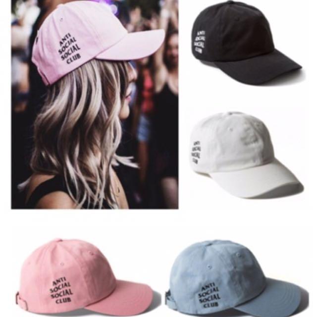 Antisocial Social Club Caps