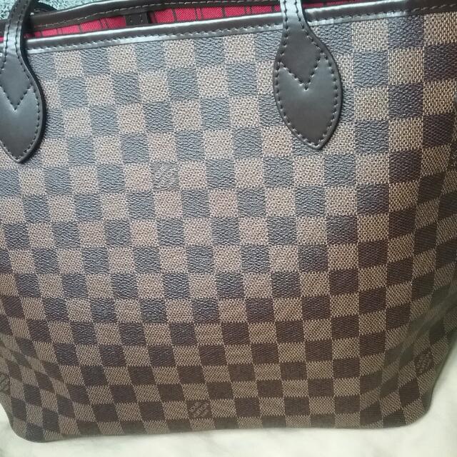Authentic Louis Vuitton Neverfull MM Demier Ebene