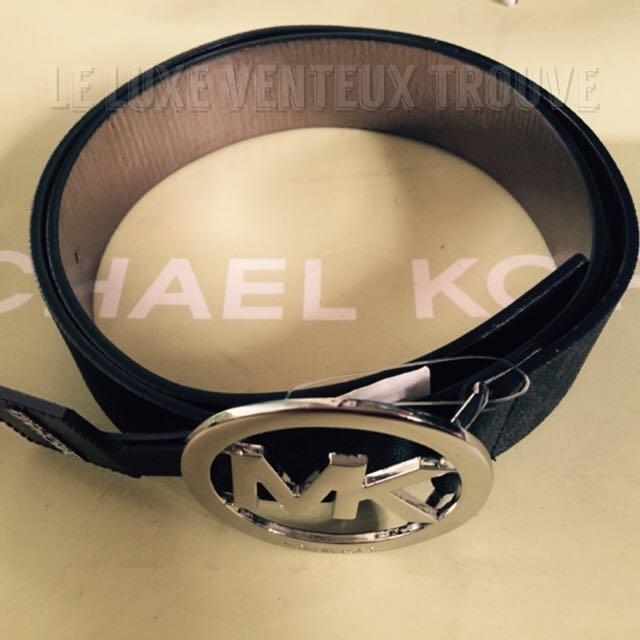 Authentic Michael Kors Monogram Unisex Belt