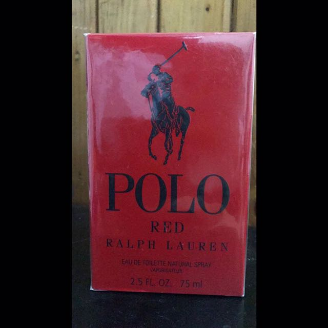 Authentic Polo RL Red Perfume