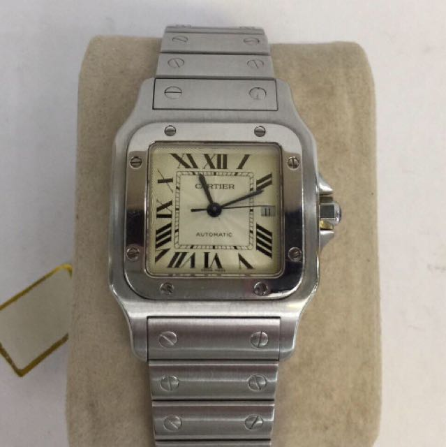 AUTHENTIC PRE OWNED CARTIER GALBEE SANTOS