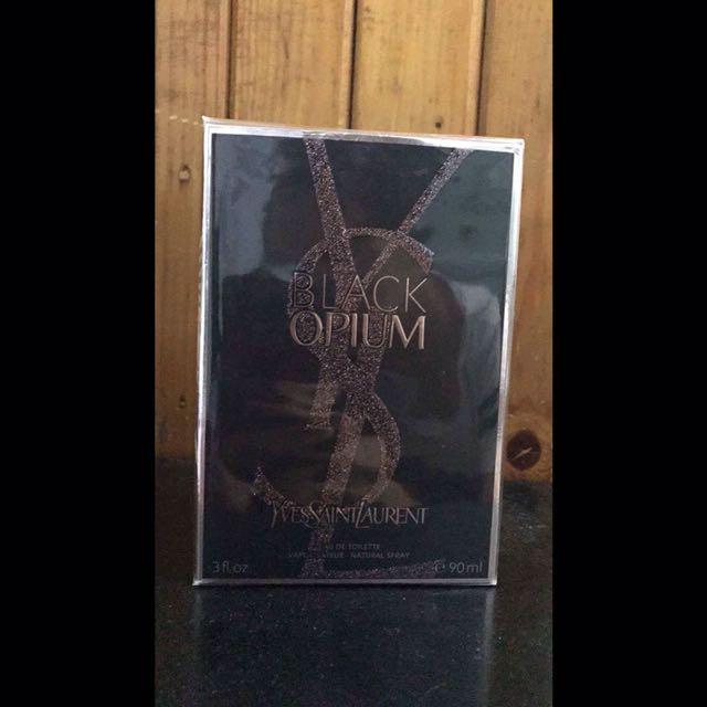 Authentic YSL Black Opium