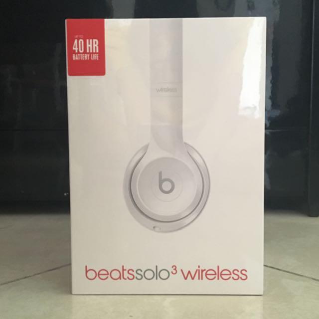 d6800f53748 Beats Solo3 Wireless On-Ear Headphones – Gloss White, Electronics ...