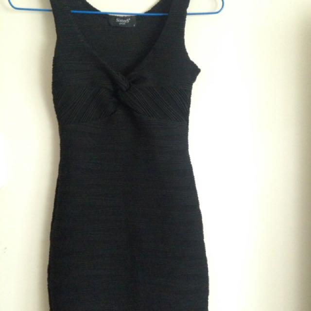 Black Body Tight Dress
