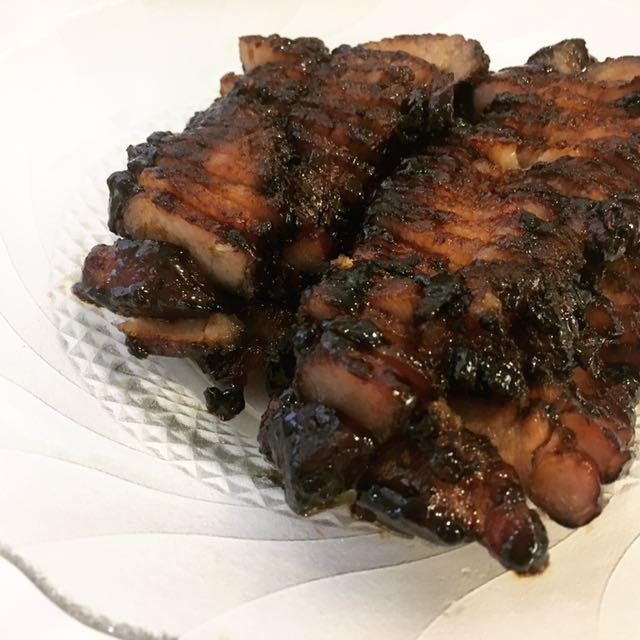 Black Sauce Char Siew Char Siu Bbq Roast Pork Belly 500g