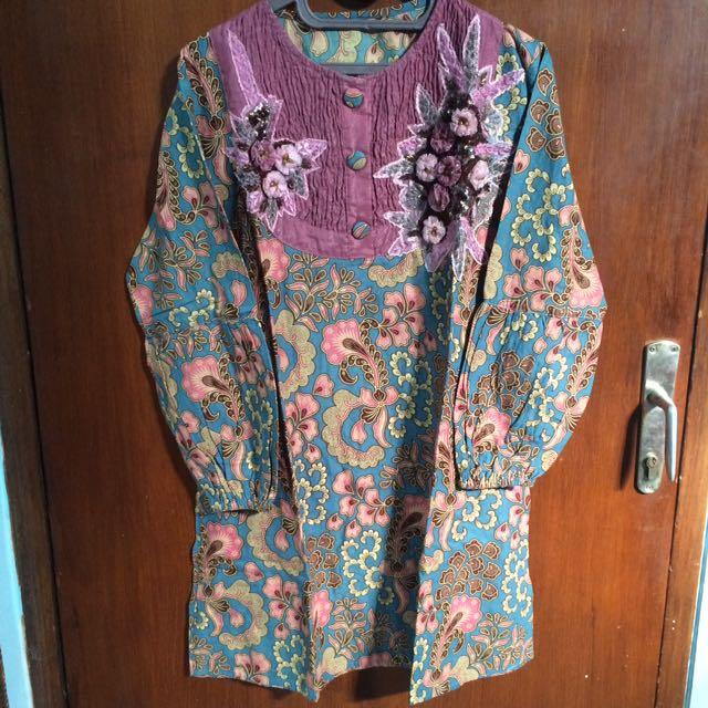 Blouse Batik + Payet