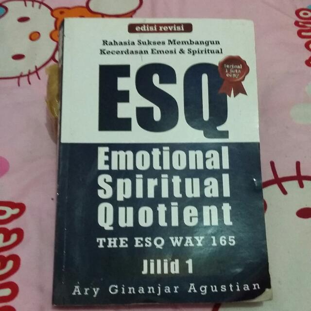 Buku ESQ (Tentang Emosi Dan Kejiwaan)