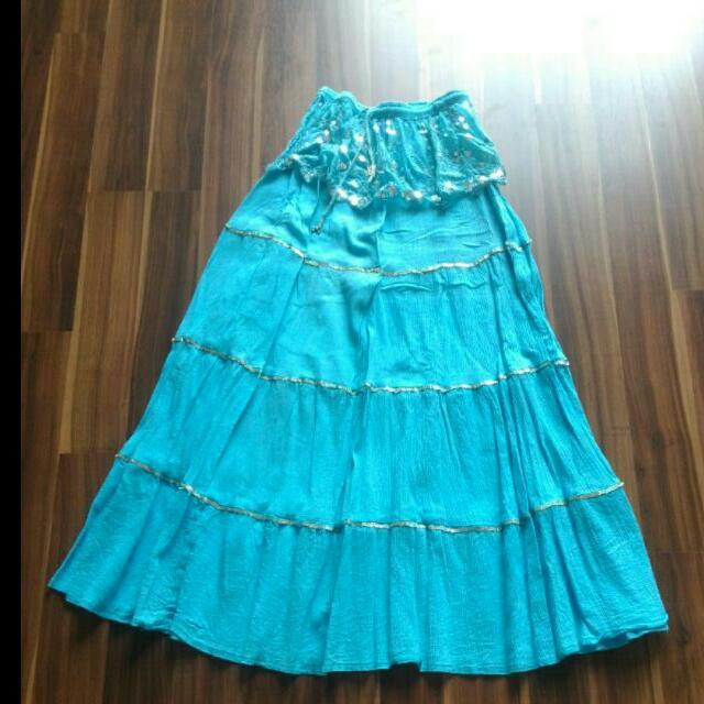 Casual Manik Maxi Dancing Skirt