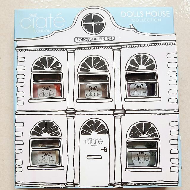 英國 Ciaté 夏緹 Dolls House Collection 娃娃屋粉彩組 夏日清涼 5色 指甲油 組合