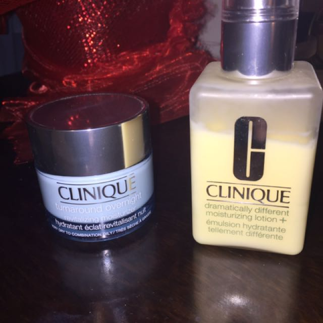 Clinique Dramatically Different Lotion & Overnight Moisturizer