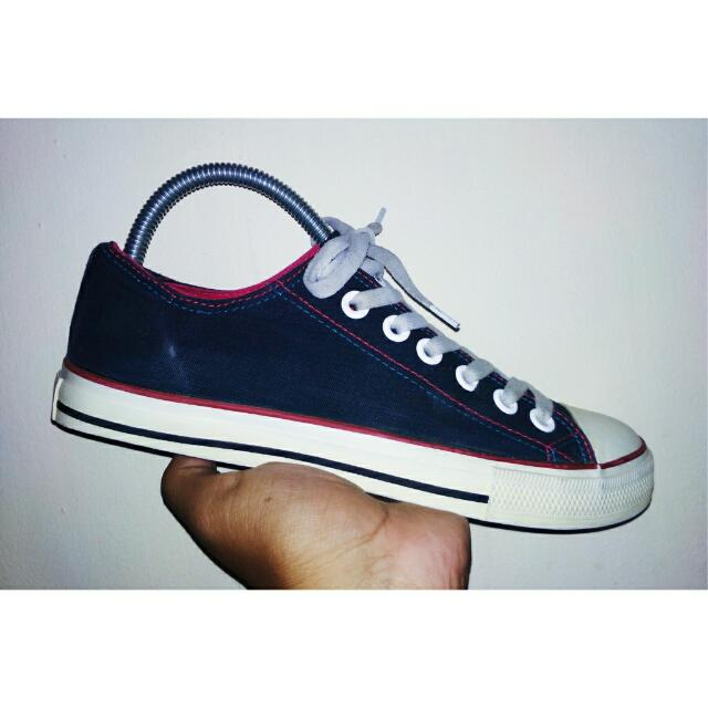 Converse All Star Ox low black List Red