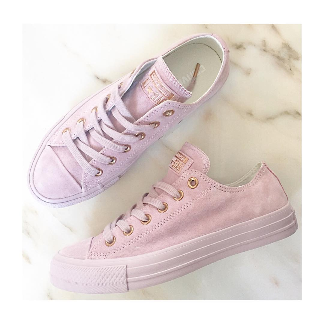 7f064b1a1066 Converse Nude Series - Pink Suede