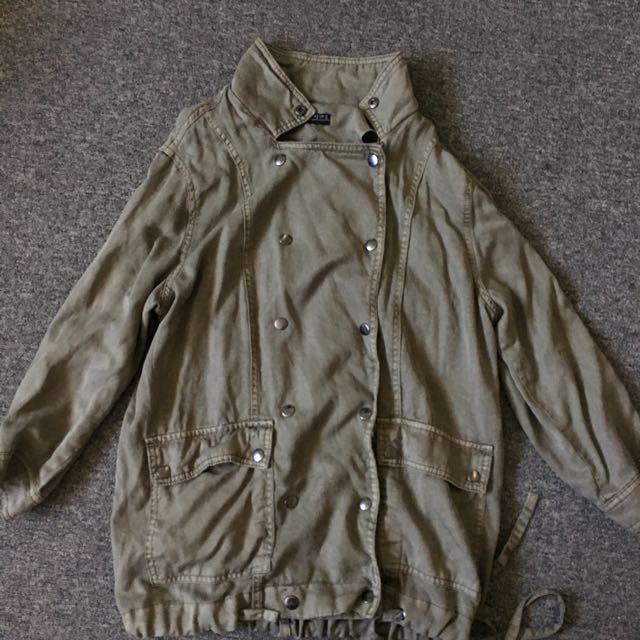 Cotton On Khaki Coat