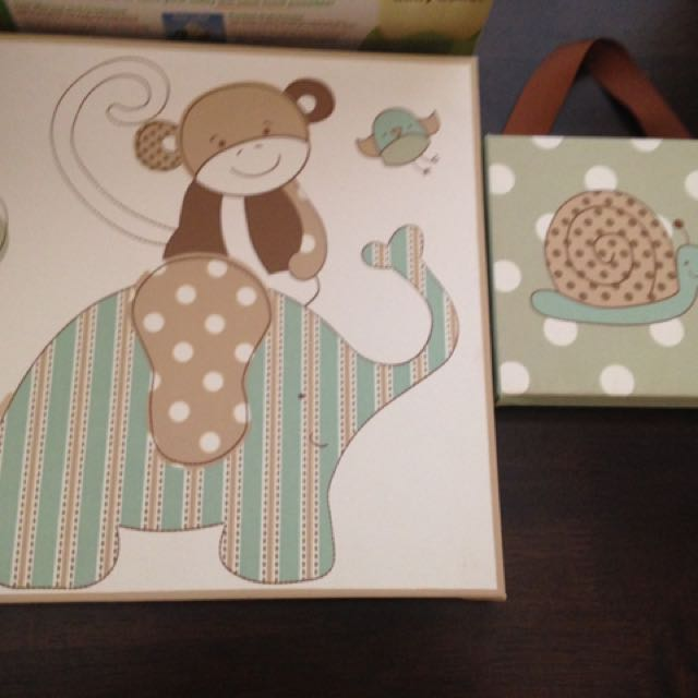 Cute Animal Canvas Set