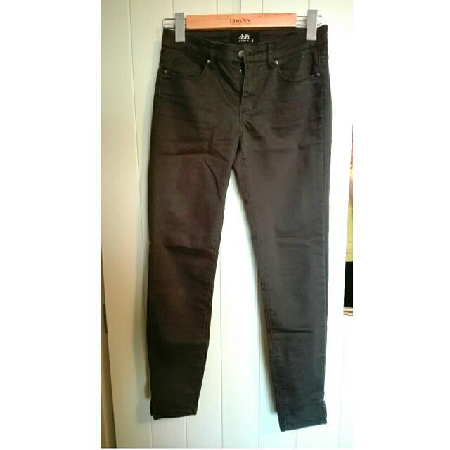 Denim Dotti Dark Green Jeans Size 8