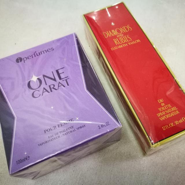 Diamonds and Rubies by Elizabeth Taylor + freebie One Carat iPerfumes by Kanna
