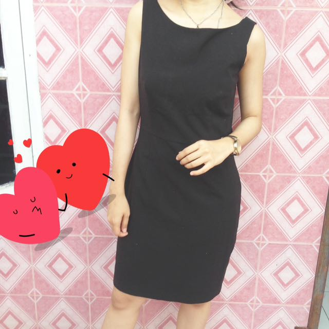 Dress Hitam Bodycon