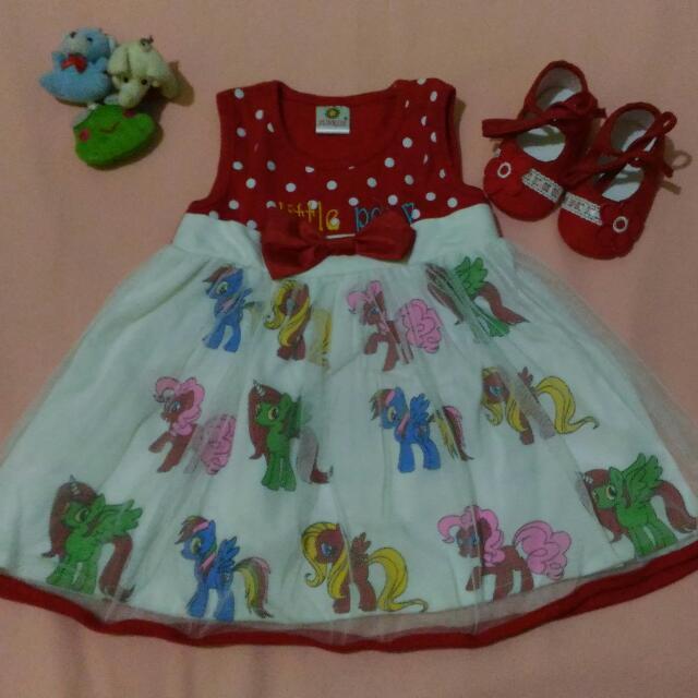 Dress Little Pony 6 Bln - 1 Thn
