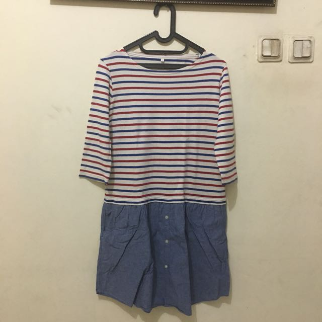 Dress Stripes Jeans