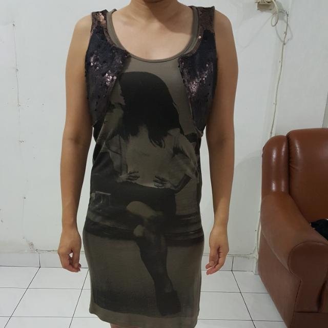 Dress Terusan Mango