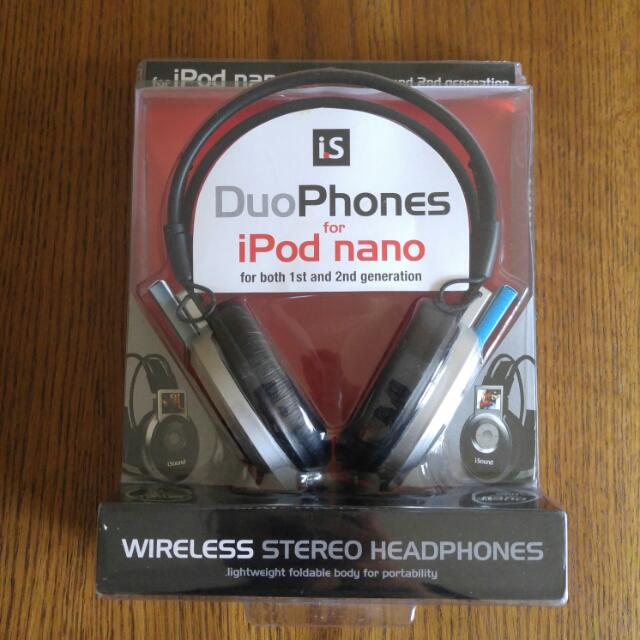Wireless Head Phones For IPod Nano