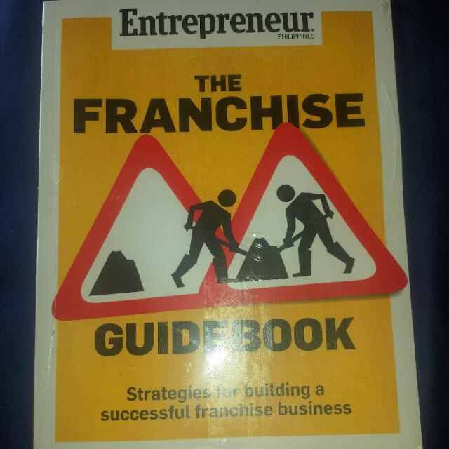Entrepreneur Franchise Book! 💝