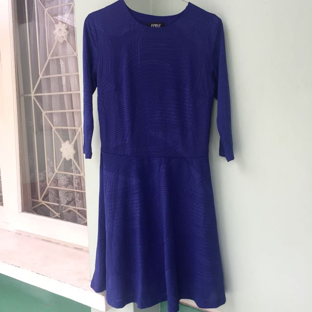 Eprise - Dark Blue Dress