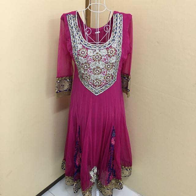 Exclusive Pink Anarkali / Punjabi Suits
