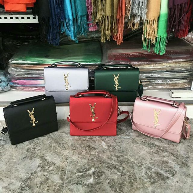 Fashion Square Shoulder Sling Bag