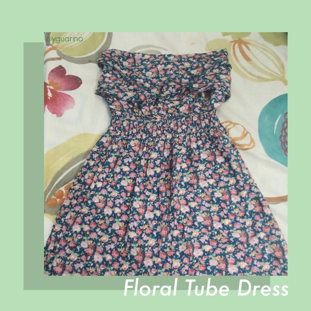❗️REPRICED❗️Floral Tube Dress