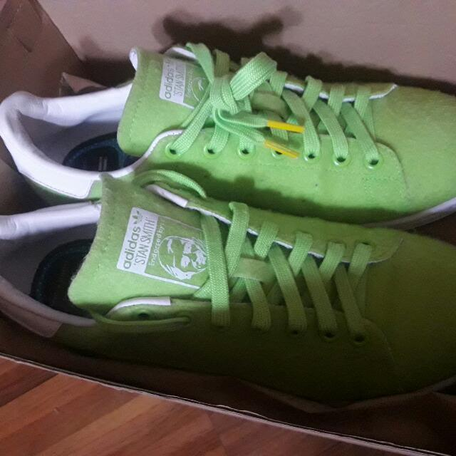 For Trade: Pharell Williams x Adidas Stan Smith Tennis Pack Green
