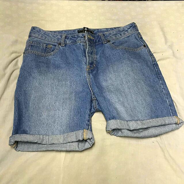 Forever 21 Men Denim Shorts