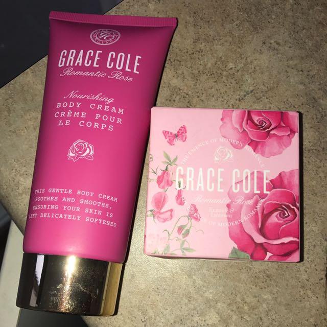 Grace Cole Body Cream And Soap