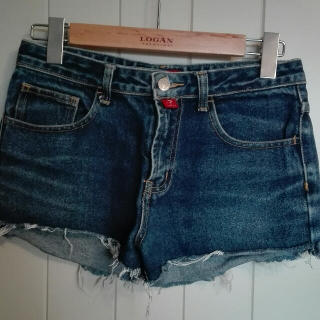Guess Jean Shorts Size 8