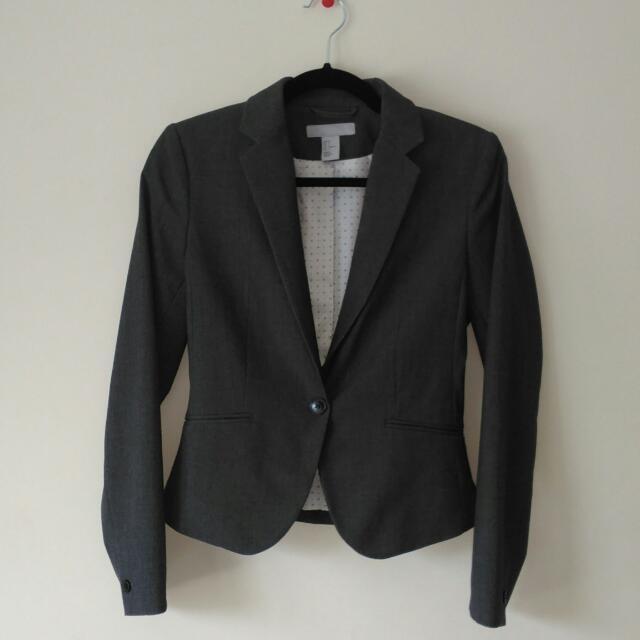 HM Grey Blazer