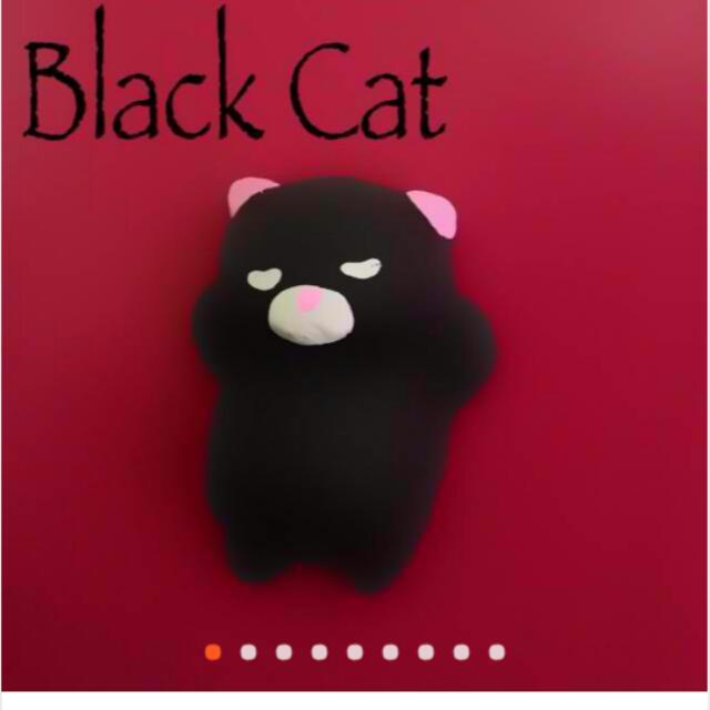 Kawaii Squishy Black Cat