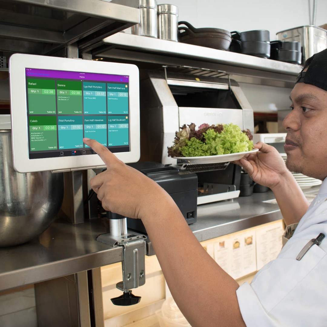 Restaurant kitchen display system mobile phones tablets mobile tablet accessories on carousell