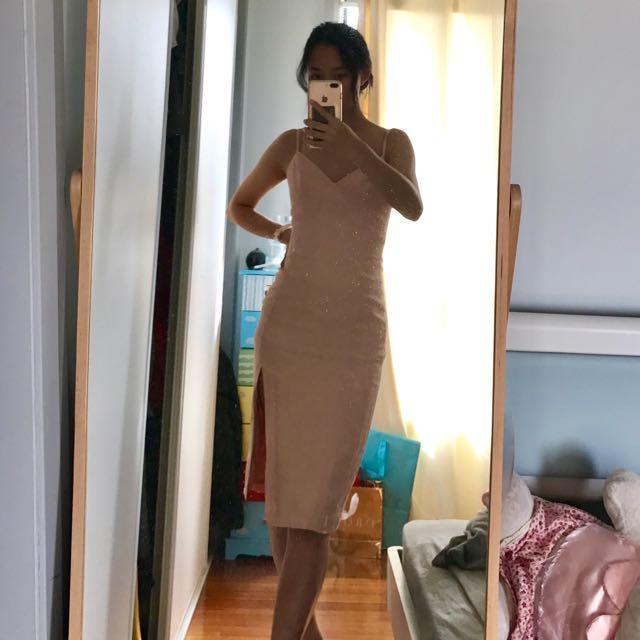 KOOKAI baby pink dress