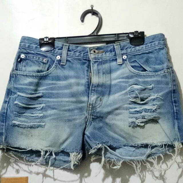 Large Denim Shorts