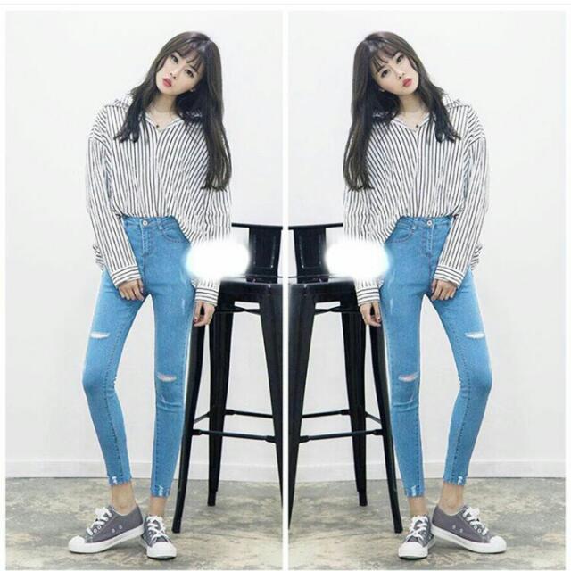 Laser Import Jeans