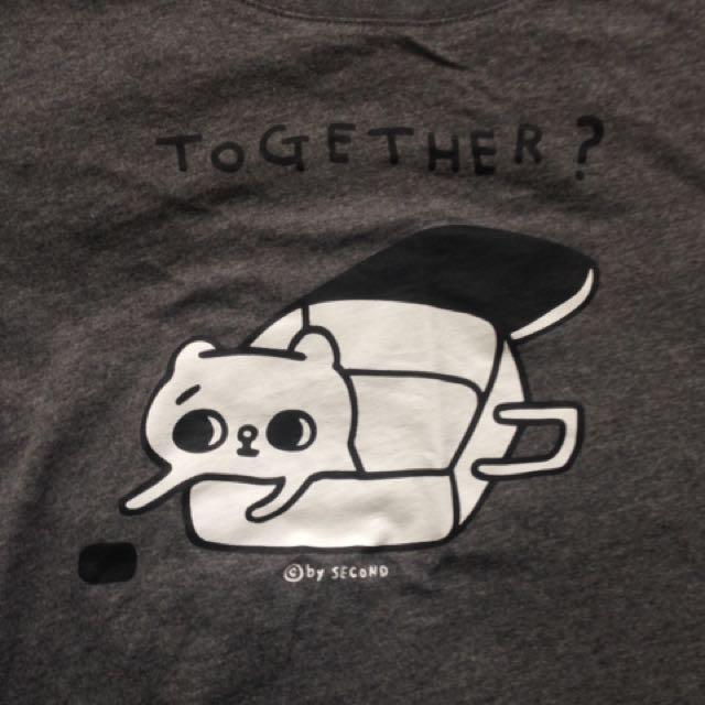 爽爽貓lativ短袖T恤衣服