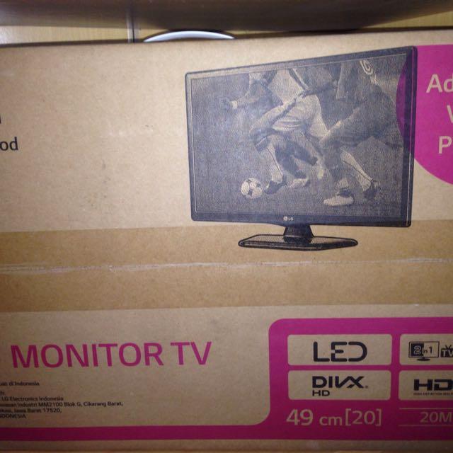 """LG LED TV Monitor 20"""""""